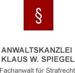 logo_spiegel.gif - Klaus W. Spiegel - Strafrecht in Würzburg